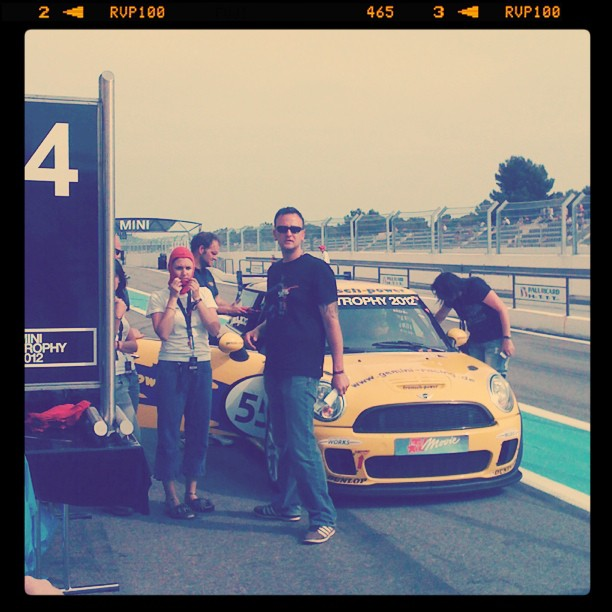 Circuit Course Castellet