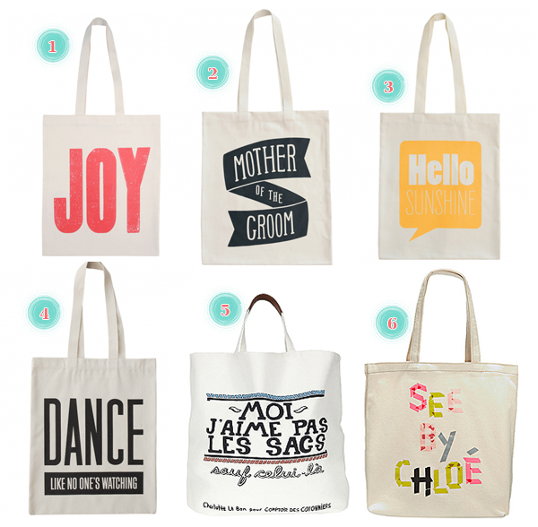 tote bag graphique