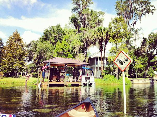Canoe à Ocala