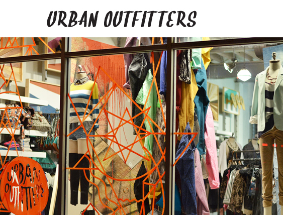 La boutique Urban Outfitters de Miami Beach