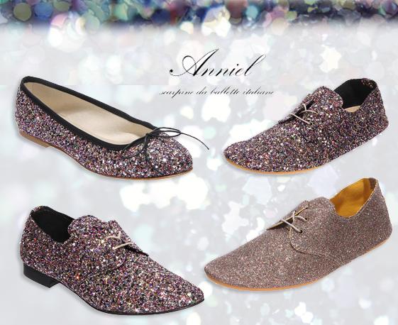 Chaussures Anniel Paillettes Chaussures-paillettes-anniel