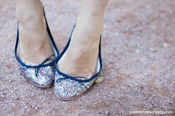 chaussures à pailettes