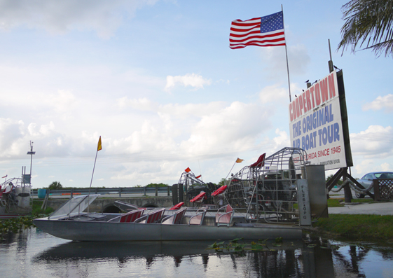 tour air boat