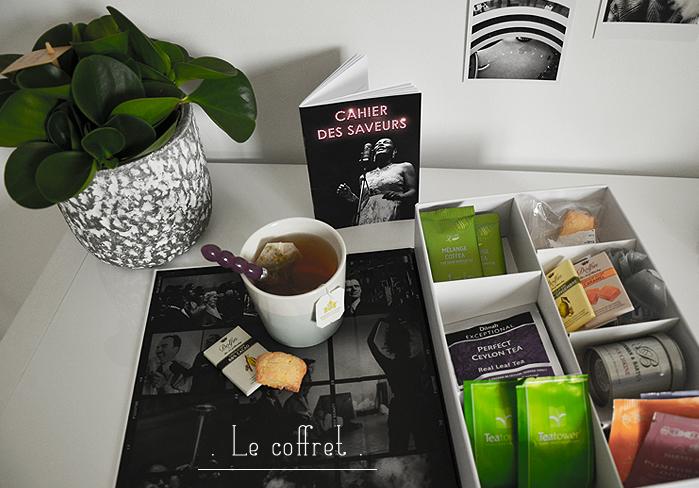 Le coffret thé box d'Octobre
