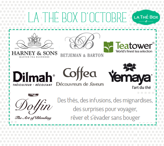 La thé box d'octobre