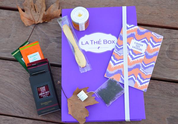thé box novembre