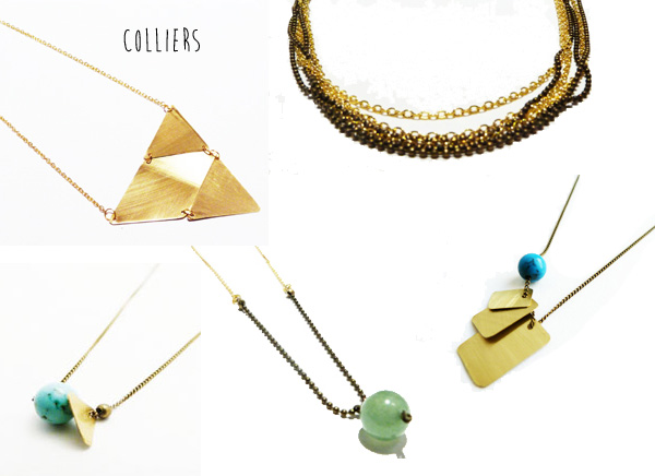 colliers femme