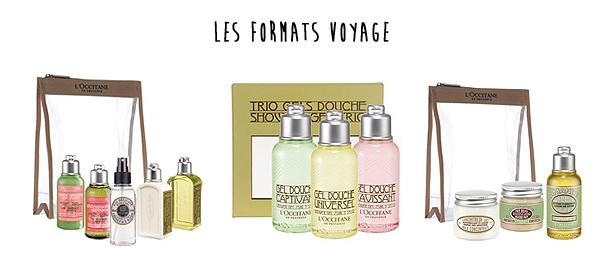 produits format voyage