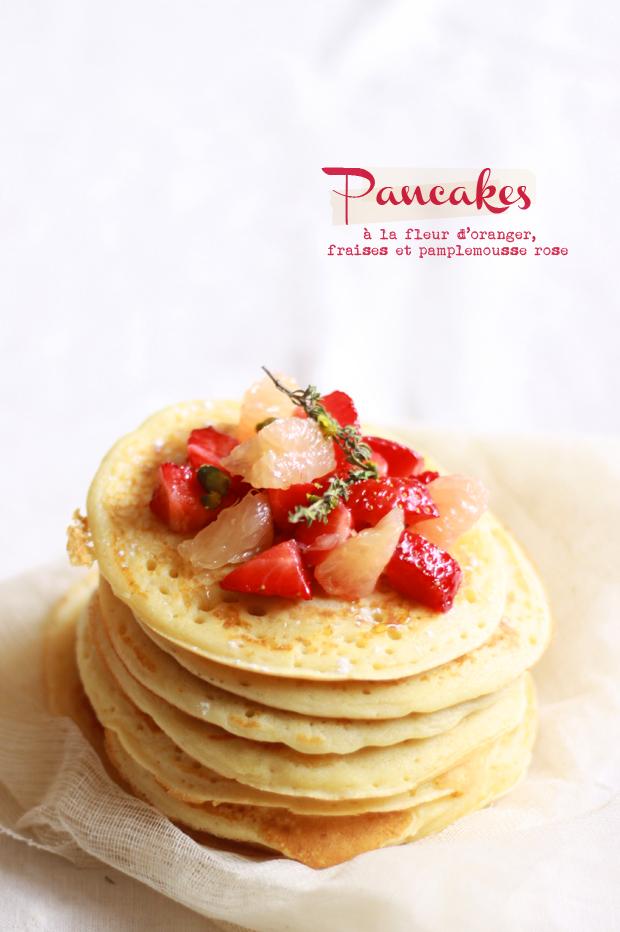 Pancakes feur d'oranger
