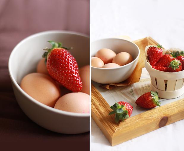Pancakes fraise