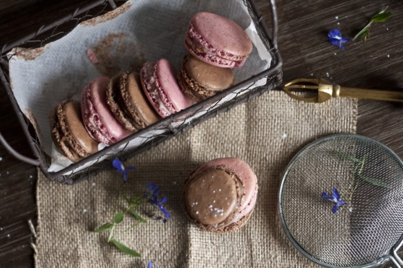macarons recette
