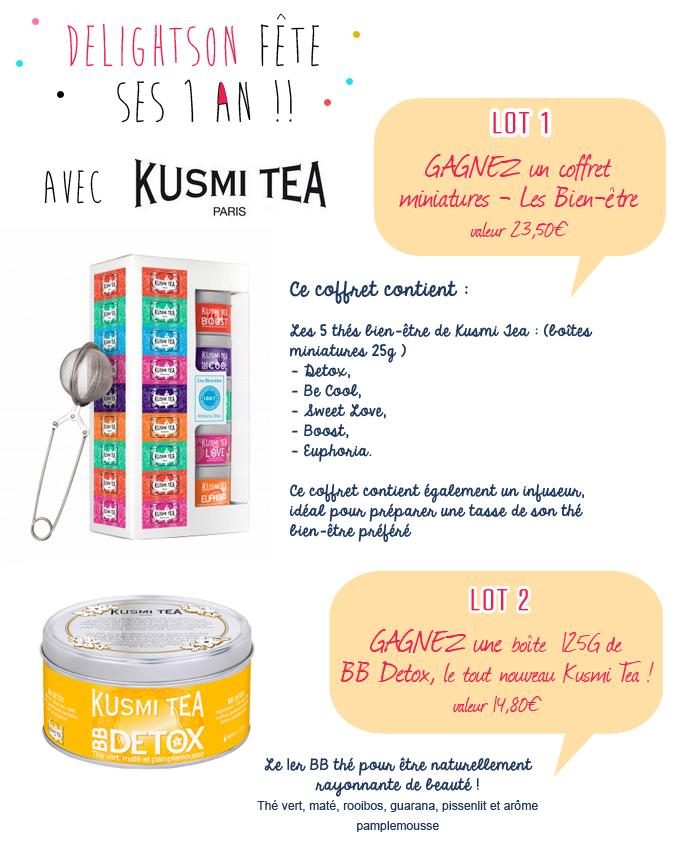 concours kusmi tea