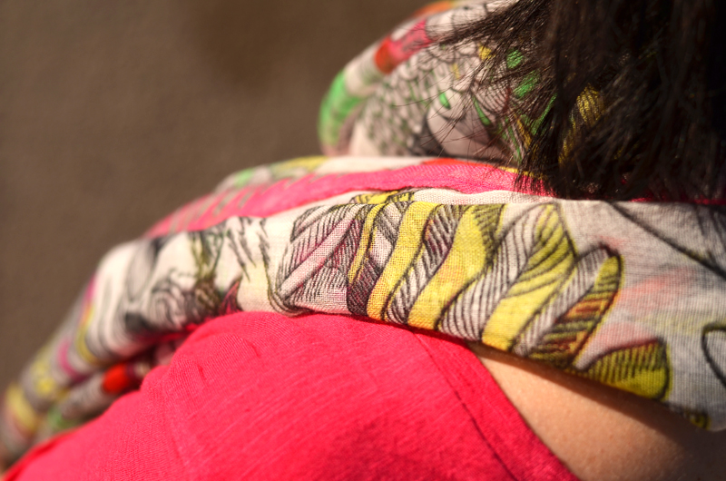 foulard kookai