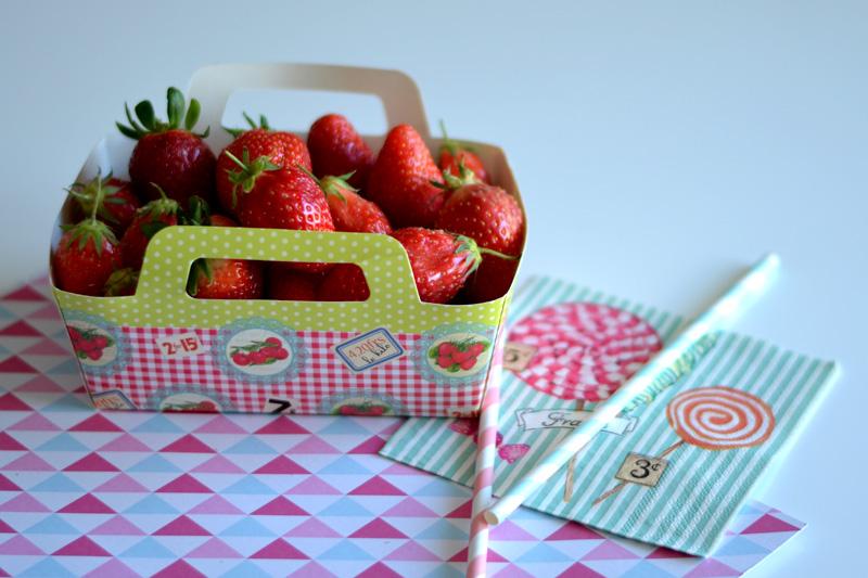 fraises recette