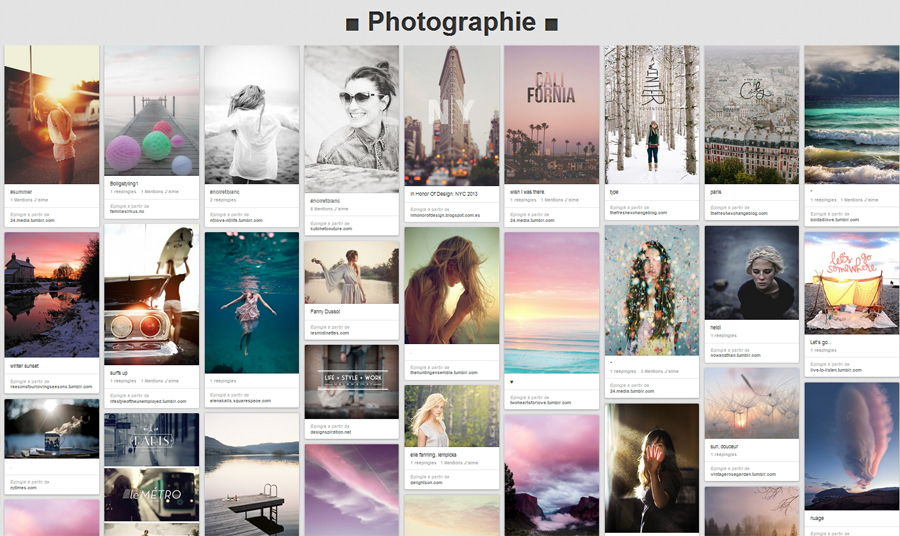 pinterest photographie