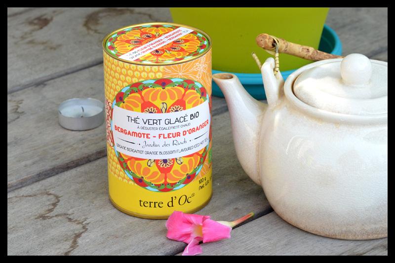 thé glacé bio oranger