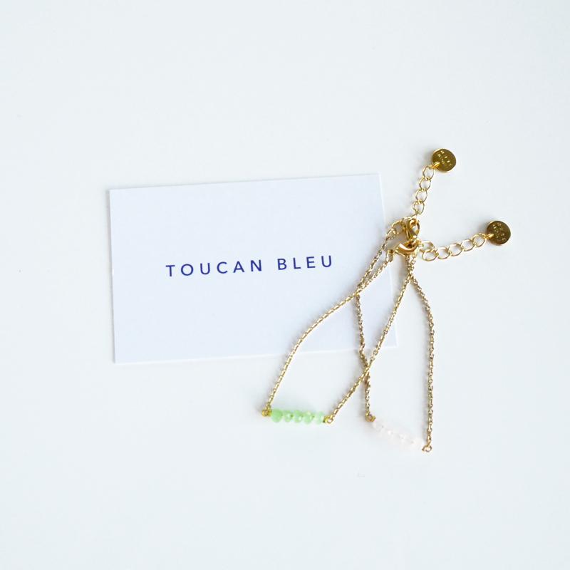 toucan bleu bijoux
