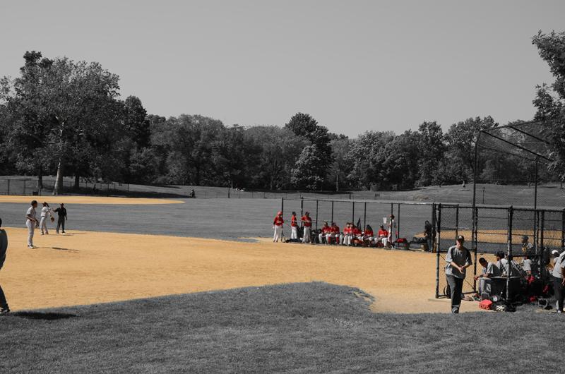 baseball à Central Park