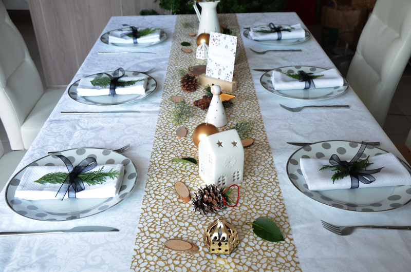 Deco table noel simple - Decoration table noel pas cher ...