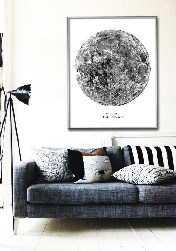 affiche lune