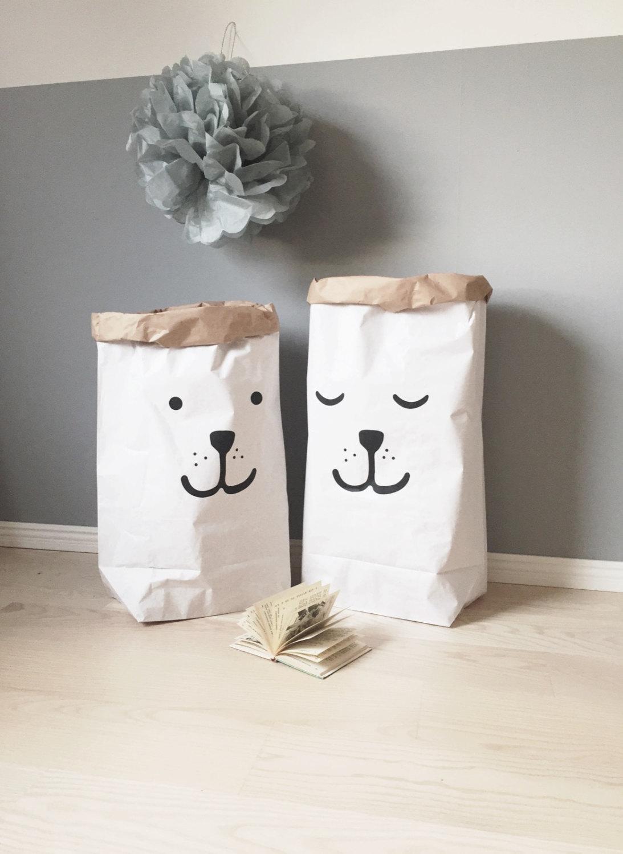 sacs papier enfants
