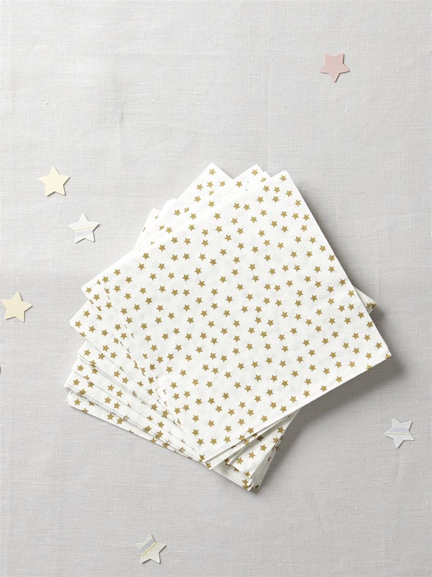 serviettes dorees