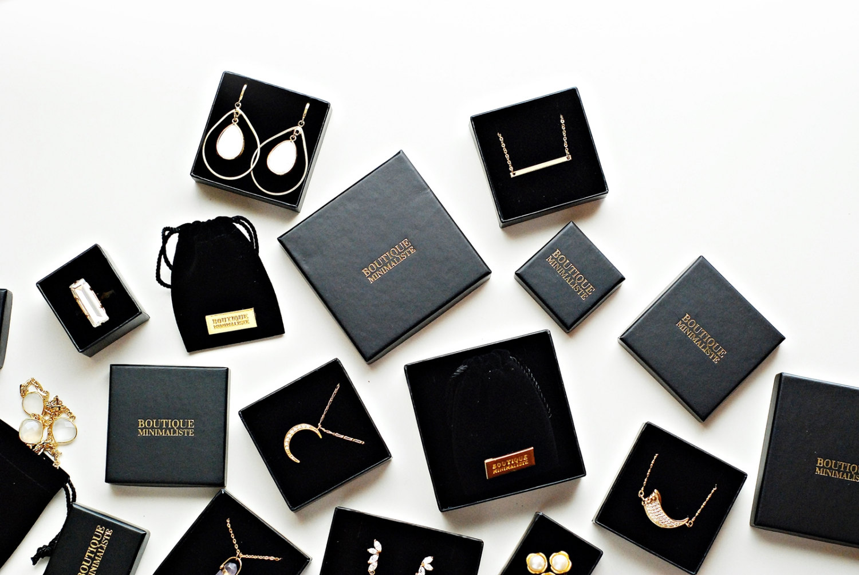 boutique bijoux minimaliste